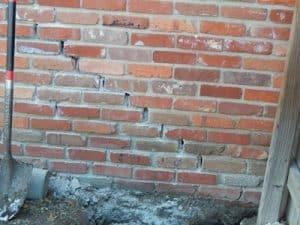 Brick Walls for Repait in NE, Oklahoma