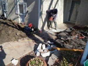 Repair Man Drilling in Broken Water, OK